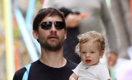 Tobey Maguire, Jennifer Meyer Welcome Spider-Baby