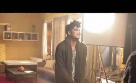 "Adam Lambert Video Teaser: Behind the Scenes of ""Better Than I Know Myself"""
