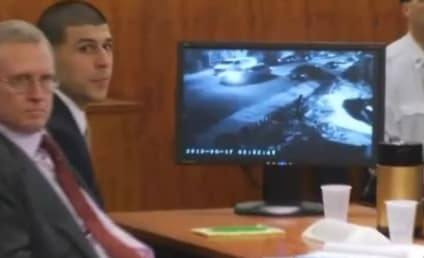 Aaron Hernandez: Video of Former Patriots Star Holding Gun on Day of Murder Shown in Court