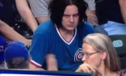 """Jack White Hates Life at Chicago Cubs Game, Hilarious """"Party of the Century"""" Photo Goes Viral!"""