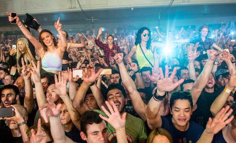 DJ Trolls Club Crowd, Never Drops the Beat