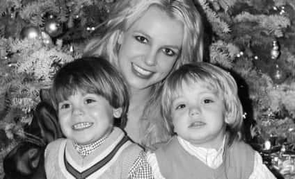 Happy Holidays From Britney, Sean Preston & Jayden James!