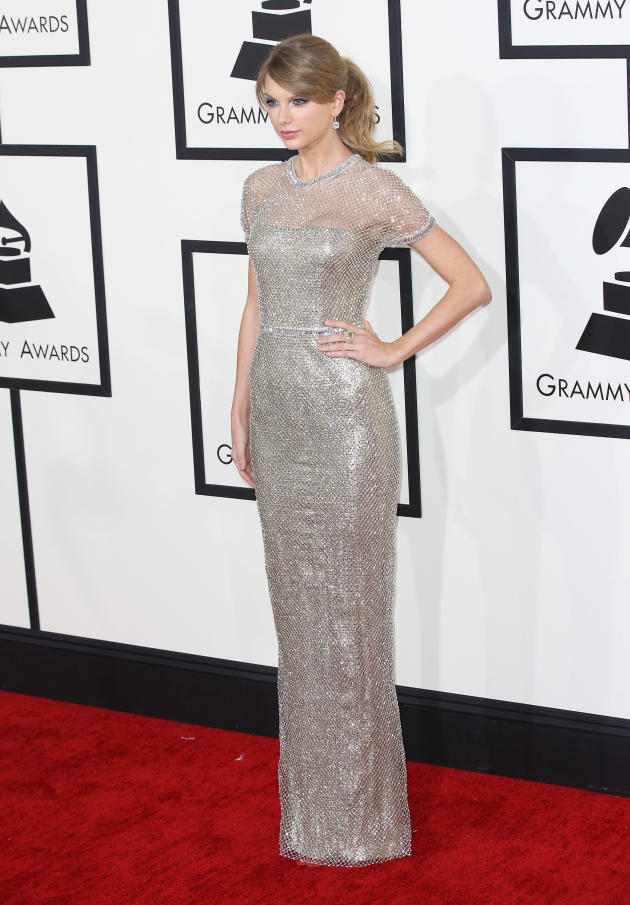 Taylor Swift at the 2014 Grammys