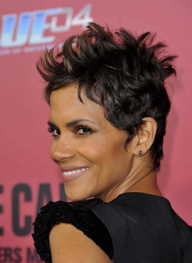 Halle Berry Up Close