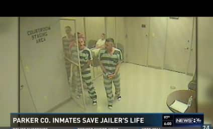 Inmates Break Out of Cell, Save Guard's Life