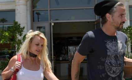 Britney Spears: Out, About, Braless as Usual