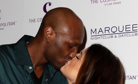 Khloe Kardashian & Lamar Odom: Romance Rewind ... Then Unwind