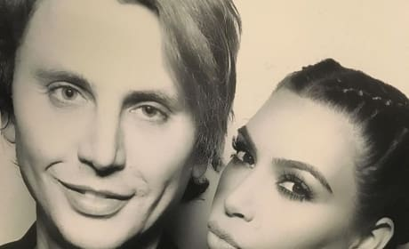 Jonathan Cheban & Kim Kardashian on Christmas Eve 2015