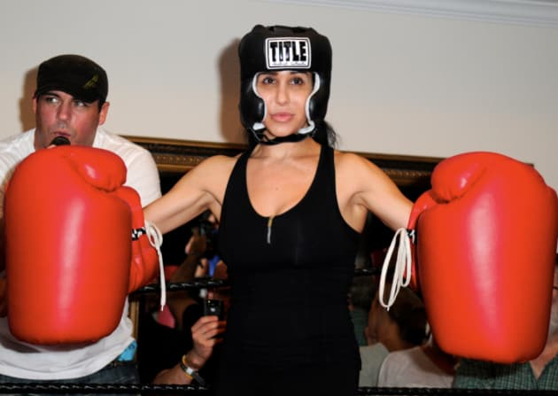 Octomom Boxing Pic