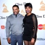 David Otunga with Jennifer Hudson