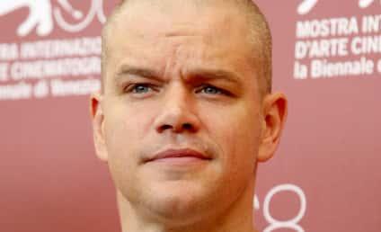 Celebrity Hair Affair: Matt Damon Goes Bare