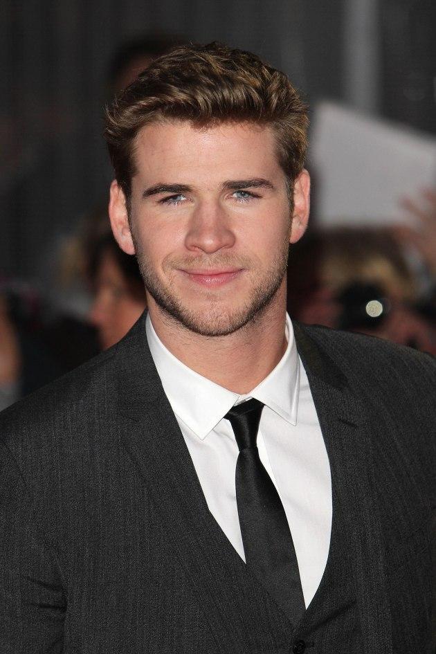 Liam Hemsworth in London