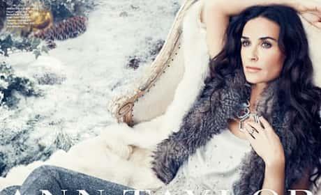 Demi Moore Ann Taylor Ad