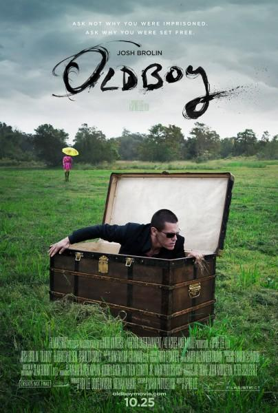Oldboy Poster Josh Brolin