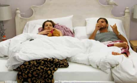Khloe and Scott in Bed