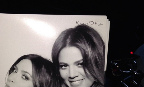 Kim and Khloe in a Photo Booth