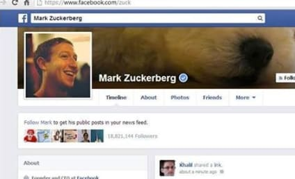 Mark Zuckerberg Facebook Page: Hacked!