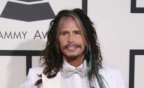 Steven Tyler Mustache Pic