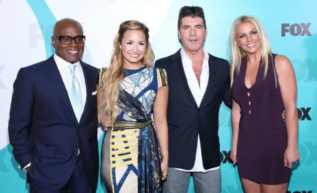 Simon, Britney, Demi and L.A.