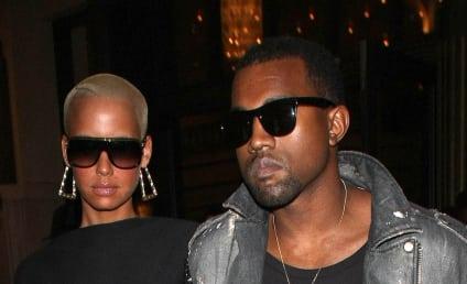 Amber Rose Bares Skin, Dates Kanye West