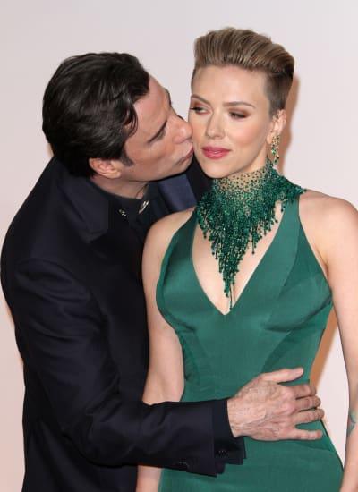 John travolta scarlett johansson dating