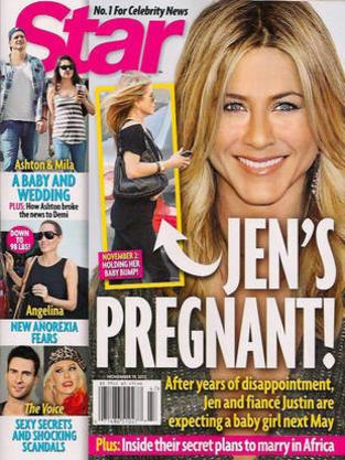 Jen Aniston NOT Pregnant!