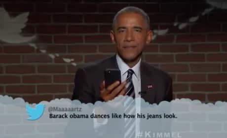 Barack Obama Mean Tweets Photo