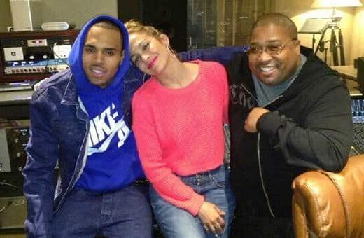 Chris Brown and J. Lo Pic