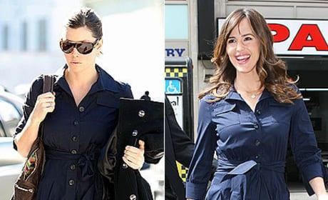 Who wears her outfit better: Jessica Biel or Jennifer Garner?
