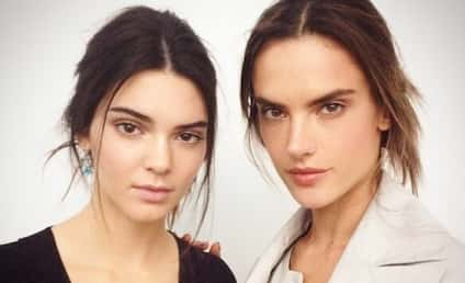 """Alessandra Ambrosio Praises """"Beautiful"""" Kendall Jenner, Posts Backstage Photo with Young Model"""