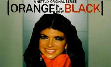Teresa Giudice: Orange is the New Black!