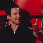 Adam Levine on The Voice Pic