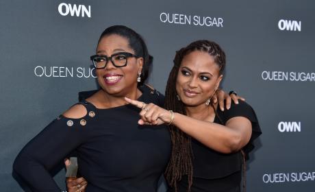 Ava DuVernay and Oprah