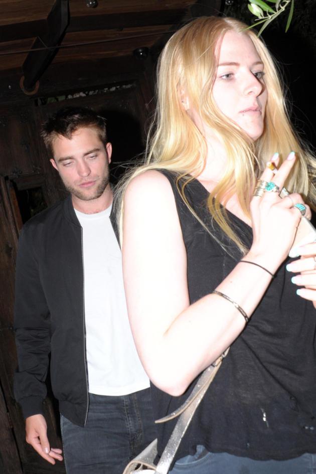 Robert Pattinson and Imogen Ker