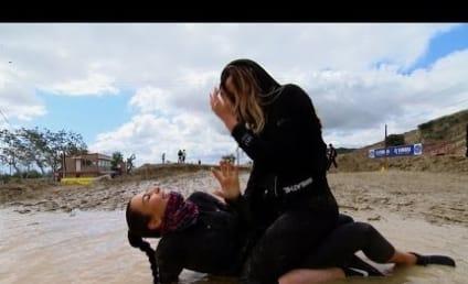 Kim and Khloe Kardashian Go on Mud Run, Talk Dirty Vaginas