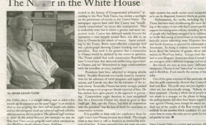Newspaper Refers to President Obama as N Word in Headline