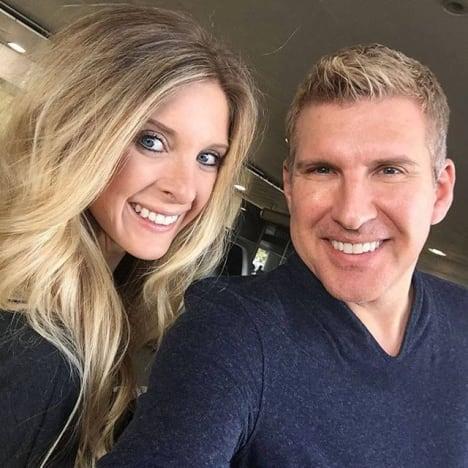Todd Chrisley avec Lindsie Chrisley