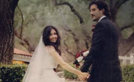 Shannen Doherty & Kurt Iswarienko Wedding Photo