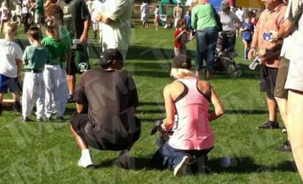 Elin Nordegren and Tiger Woods: Spotted Together at Sporting Event!