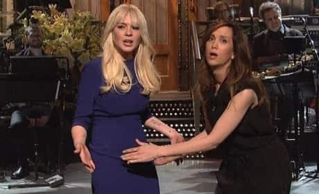Lindsay on SNL