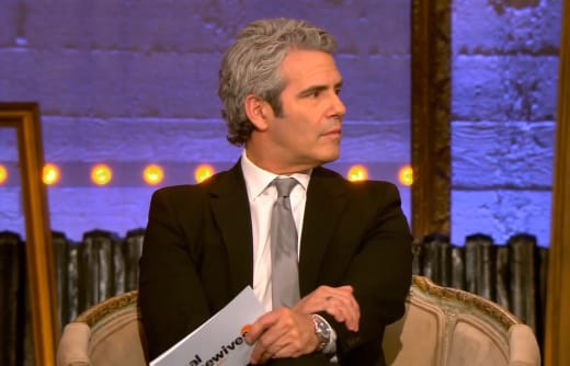 Andy Cohen Has Some Serious Questions