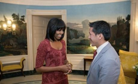 Michelle Obama's bangs: What do you think?