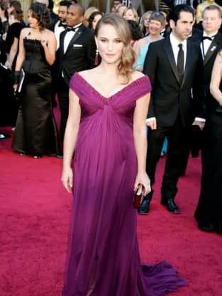 Natalie Portman at the Oscars
