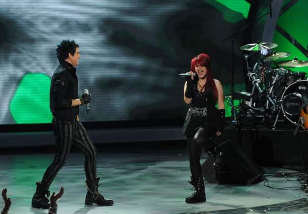 Adam Lambert and Allison Iraheta