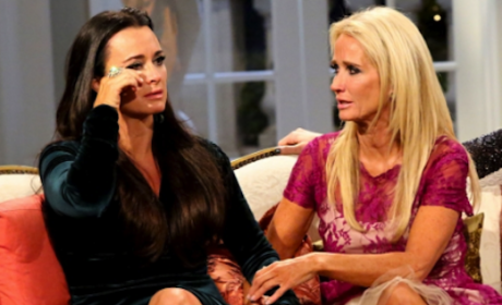 Kim and Kyle Richards Arguing