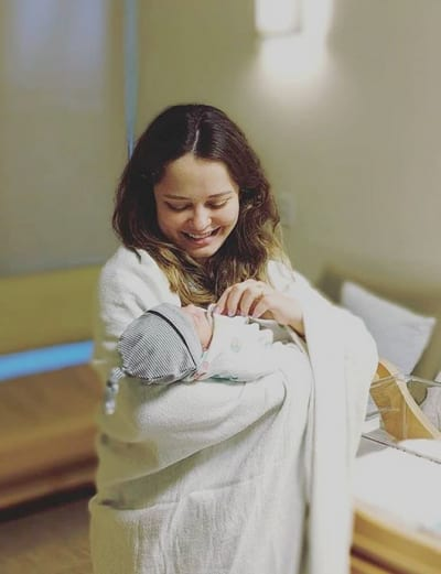 Kirlyam and Baby Liam