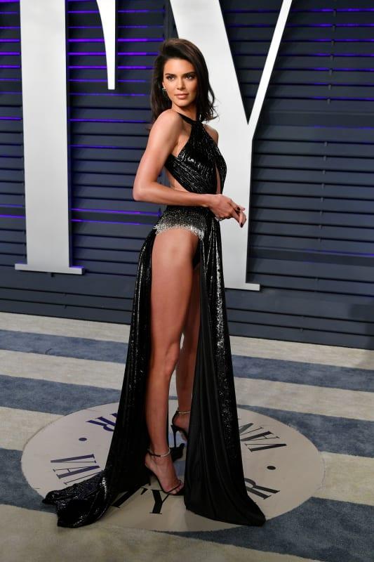 Briget mendler in panties Kendall Jenner Wears Basically Nothing To Oscars After Party Celebritytalker Com