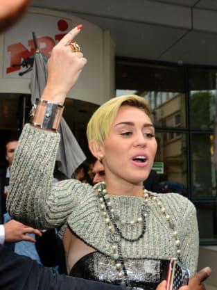Miley Cyrus Visits London