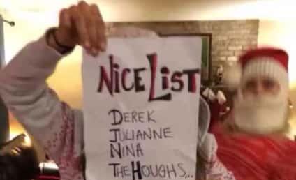 Nina Dobrev and Julianne Hough: Christmas Dance-Off!