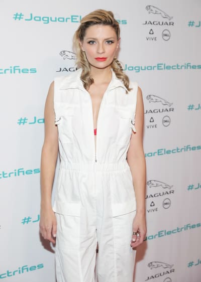 Mischa Barton in All White